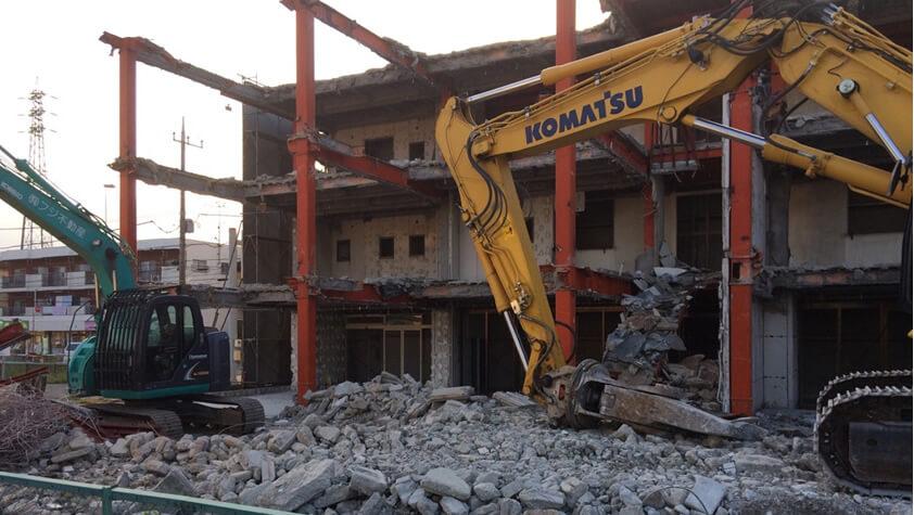 建物解体工事部